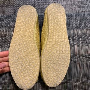 Toms Shoes - 6- TOMS SPARKLING GLITTER FLATS
